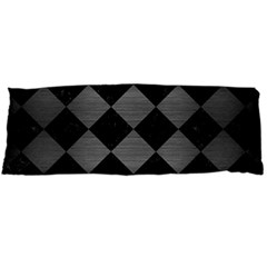 Square2 Black Marble & Gray Brushed Metal Body Pillow Case Dakimakura (two Sides) by trendistuff