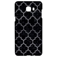 Tile1 Black Marble & Gray Brushed Metal (r) Samsung C9 Pro Hardshell Case  by trendistuff