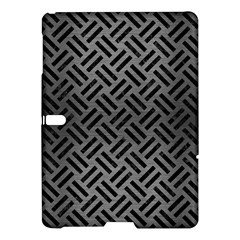 Woven2 Black Marble & Gray Brushed Metal Samsung Galaxy Tab S (10 5 ) Hardshell Case  by trendistuff