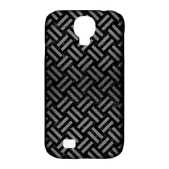 Woven2 Black Marble & Gray Brushed Metal (r) Samsung Galaxy S4 Classic Hardshell Case (pc+silicone) by trendistuff