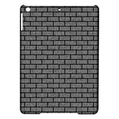 Brick1 Black Marble & Gray Denim Ipad Air Hardshell Cases by trendistuff