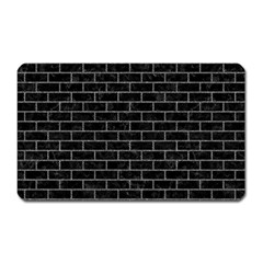 Brick1 Black Marble & Gray Denim (r) Magnet (rectangular) by trendistuff