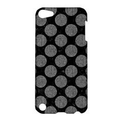 Circles2 Black Marble & Gray Denim (r) Apple Ipod Touch 5 Hardshell Case by trendistuff