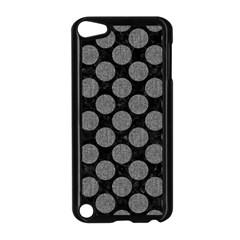 Circles2 Black Marble & Gray Denim (r) Apple Ipod Touch 5 Case (black) by trendistuff
