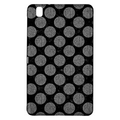 Circles2 Black Marble & Gray Denim (r) Samsung Galaxy Tab Pro 8 4 Hardshell Case by trendistuff