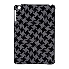 Houndstooth2 Black Marble & Gray Denim Apple Ipad Mini Hardshell Case (compatible With Smart Cover) by trendistuff