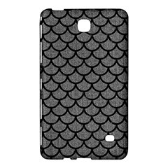 Scales1 Black Marble & Gray Denim Samsung Galaxy Tab 4 (8 ) Hardshell Case  by trendistuff