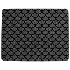 Scales1 Black Marble & Gray Denim Jigsaw Puzzle Photo Stand (rectangular)