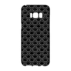 Scales2 Black Marble & Gray Denim (r) Samsung Galaxy S8 Hardshell Case  by trendistuff