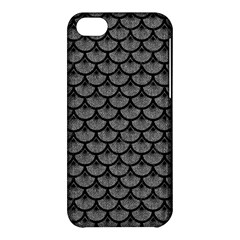 Scales3 Black Marble & Gray Denim Apple Iphone 5c Hardshell Case by trendistuff