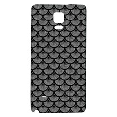 Scales3 Black Marble & Gray Denim Galaxy Note 4 Back Case by trendistuff
