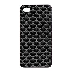 Scales3 Black Marble & Gray Denim (r) Apple Iphone 4/4s Seamless Case (black) by trendistuff