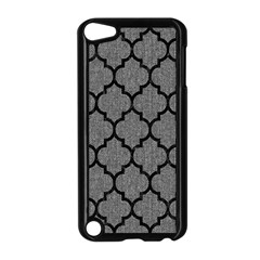 Tile1 Black Marble & Gray Denim Apple Ipod Touch 5 Case (black) by trendistuff