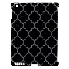Tile1 Black Marble & Gray Denim (r) Apple Ipad 3/4 Hardshell Case (compatible With Smart Cover) by trendistuff
