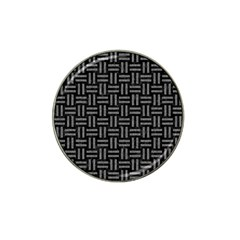 Woven1 Black Marble & Gray Denim (r) Hat Clip Ball Marker (10 Pack) by trendistuff
