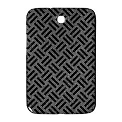 Woven2 Black Marble & Gray Denim Samsung Galaxy Note 8 0 N5100 Hardshell Case  by trendistuff