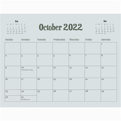 Flamingo Tropical Vacation Calendar, 12 Months By Mikki   Wall Calendar 11  X 8 5  (12 Months)   Ked7ua792o4u   Www Artscow Com Oct 2019
