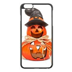 Funny Halloween Pumpkins Apple Iphone 6 Plus/6s Plus Black Enamel Case by gothicandhalloweenstore