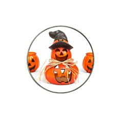 Funny Halloween Pumpkins Hat Clip Ball Marker (4 Pack) by gothicandhalloweenstore