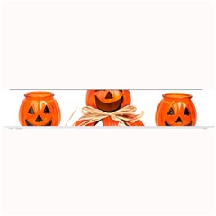 Funny Halloween Pumpkins Small Bar Mats by gothicandhalloweenstore