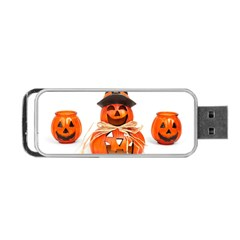 Funny Halloween Pumpkins Portable Usb Flash (two Sides) by gothicandhalloweenstore