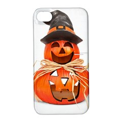 Funny Halloween Pumpkins Apple Iphone 4/4s Hardshell Case With Stand by gothicandhalloweenstore