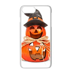 Funny Halloween Pumpkins Apple Iphone 7 Plus Seamless Case (white) by gothicandhalloweenstore