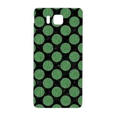Circles2 Black Marble & Green Denim (r) Samsung Galaxy Alpha Hardshell Back Case by trendistuff