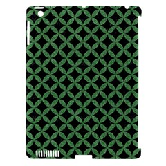 Circles3 Black Marble & Green Denim (r) Apple Ipad 3/4 Hardshell Case (compatible With Smart Cover) by trendistuff