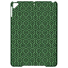 Hexagon1 Black Marble & Green Denim Apple Ipad Pro 9 7   Hardshell Case by trendistuff