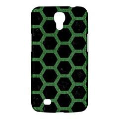 Hexagon2 Black Marble & Green Denim (r) Samsung Galaxy Mega 6 3  I9200 Hardshell Case by trendistuff