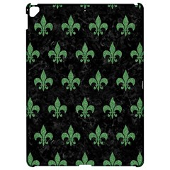 Royal1 Black Marble & Green Denim Apple Ipad Pro 12 9   Hardshell Case by trendistuff