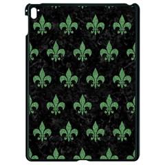 Royal1 Black Marble & Green Denim Apple Ipad Pro 9 7   Black Seamless Case by trendistuff
