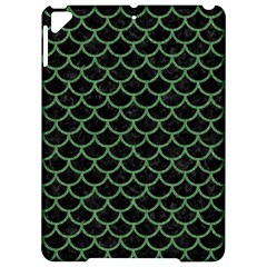 Scales1 Black Marble & Green Denim (r) Apple Ipad Pro 9 7   Hardshell Case by trendistuff