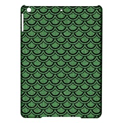 Scales2 Black Marble & Green Denim Ipad Air Hardshell Cases