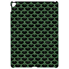 Scales3 Black Marble & Green Denim (r) Apple Ipad Pro 12 9   Hardshell Case by trendistuff