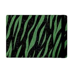 Skin3 Black Marble & Green Denim (r) Apple Ipad Mini Flip Case by trendistuff