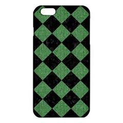 Square2 Black Marble & Green Denim Iphone 6 Plus/6s Plus Tpu Case by trendistuff