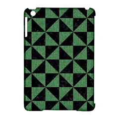 Triangle1 Black Marble & Green Denim Apple Ipad Mini Hardshell Case (compatible With Smart Cover) by trendistuff