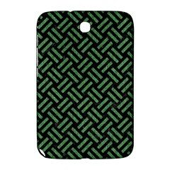 Woven2 Black Marble & Green Denim (r) Samsung Galaxy Note 8 0 N5100 Hardshell Case  by trendistuff
