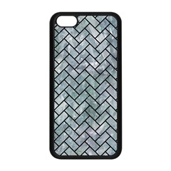 Brick2 Black Marble & Ice Crystals Apple Iphone 5c Seamless Case (black) by trendistuff