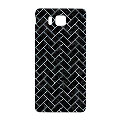 Brick2 Black Marble & Ice Crystals (r) Samsung Galaxy Alpha Hardshell Back Case by trendistuff