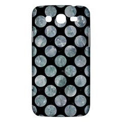 Circles2 Black Marble & Ice Crystals (r) Samsung Galaxy Mega 5 8 I9152 Hardshell Case  by trendistuff