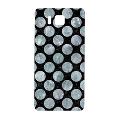Circles2 Black Marble & Ice Crystals (r) Samsung Galaxy Alpha Hardshell Back Case by trendistuff