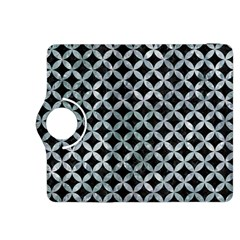 Circles3 Black Marble & Ice Crystals (r) Kindle Fire Hdx 8 9  Flip 360 Case by trendistuff
