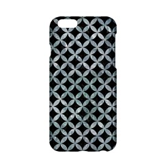Circles3 Black Marble & Ice Crystals (r) Apple Iphone 6/6s Hardshell Case by trendistuff