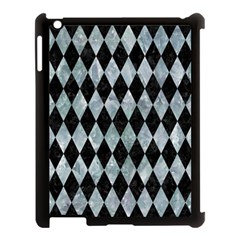 Diamond1 Black Marble & Ice Crystals Apple Ipad 3/4 Case (black) by trendistuff