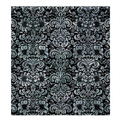 Damask2 Black Marble & Ice Crystals (r) Shower Curtain 66  X 72  (large)  by trendistuff