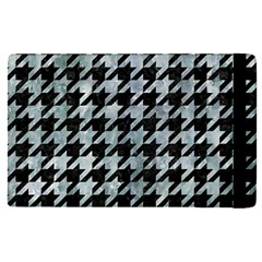 Houndstooth1 Black Marble & Ice Crystals Apple Ipad Pro 12 9   Flip Case by trendistuff