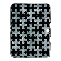 Puzzle1 Black Marble & Ice Crystals Samsung Galaxy Tab 4 (10 1 ) Hardshell Case  by trendistuff